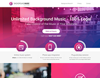 Background Music Systems- Responsive Website Design