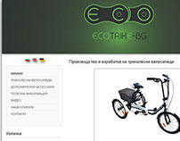 Business Website - Eco Trike BG