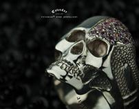 Skull ring   Tyvodar