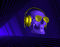 Web GL 3D Audio Visualizer (free download)