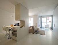 Reforma de un apartamento. Ubrrechena arquitectos.