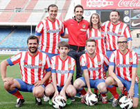 COCACOLA. BLOGGERS ATLETICO DE MADRID