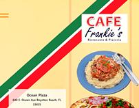 Cafe Frankie's Menu #2