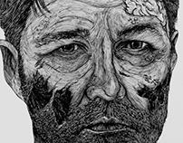 Zombified Walking Dead Characters