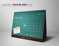 Calendário 2016 | Toca de Assis