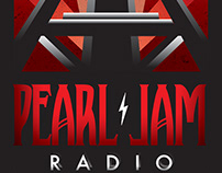 Pearl Jam Radio Poster and Logo