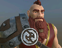 Daily: Texturing Game Character