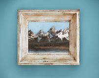 Oil on Canvas | The Grand Tetons | Jackson Hole