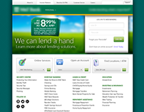 Bank Home page