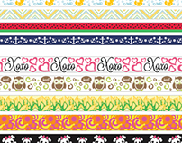 Printed Ribbon Designs '12