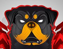 ZEUS the rottweiler