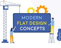 Modern Flat Design Concepts