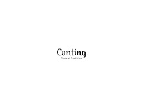 Canting - Menu Book