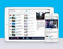 TVPlayer multi-platform app