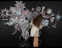 Ciate Chalkboard Manicure Mural