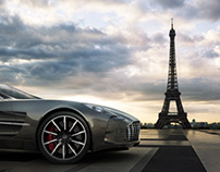 Paris | Chicago | Aston Martin One-77 - CGI
