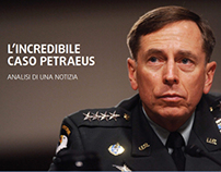 L'incredibile caso Petraeus | Analisi di una notizia
