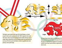 Singapore Youth Olympics 2010 (Logo & Medal Design)