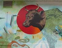 Tain Mural / An Ríastrad