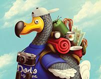 Poster for DODO MAGAZINE!