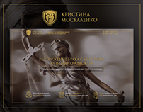 Landing page for a lawyer
