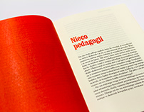 Collection of essays – book design