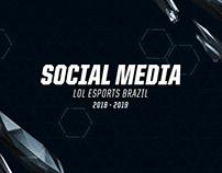 Social Media - LoLEsports Brazil