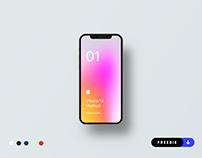 Freebie - iPhone 12 Mockup - PSD