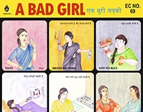 A Bad Girl - Educational Poster