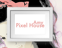 Amy Pixel House DIGITAL ART