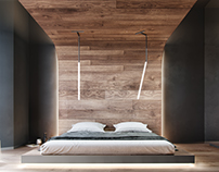 Bedroom in New York Concept House - 2
