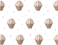 Birthday Muffin Pattern