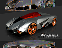 Lamborghini 3D Alias model