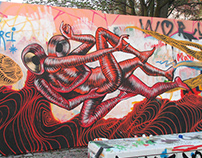 Gods in Love + Awer - Wall in Berlin