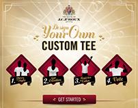 J.C. Le Roux Custom T-Shirt Creator