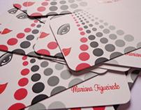 Cartões Mariana Figueiredo (Mariana Business Cards)