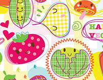 Happy Veggies collection by Paperchase UK