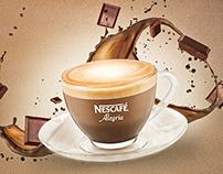 Nescafe Alegria website