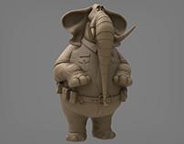 Elephant Zootopia