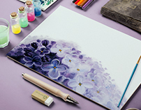Flowers illustration/painting