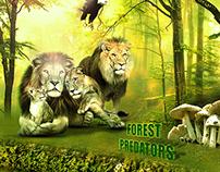 غابة المفترسين Forest predators
