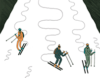 Ski Slopes for the Willamette Week