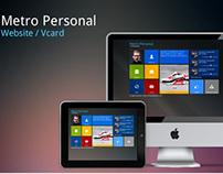 Metro Personal Website