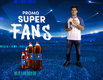 RADIO: PEPSI. Promo Súper Fans