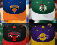 NBA fan caps - IOS icons