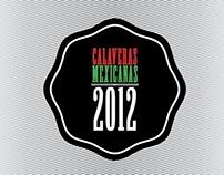 calaveras mexicanas 2012
