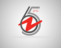 Logo - 65 ans Damart