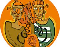 Iskon illustration contest