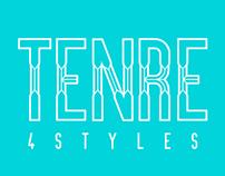 TENRE Font - Free Modern