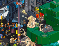 Baltimore Docks Poster
